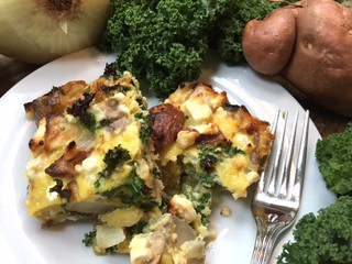 Veggie Omelette Casserole