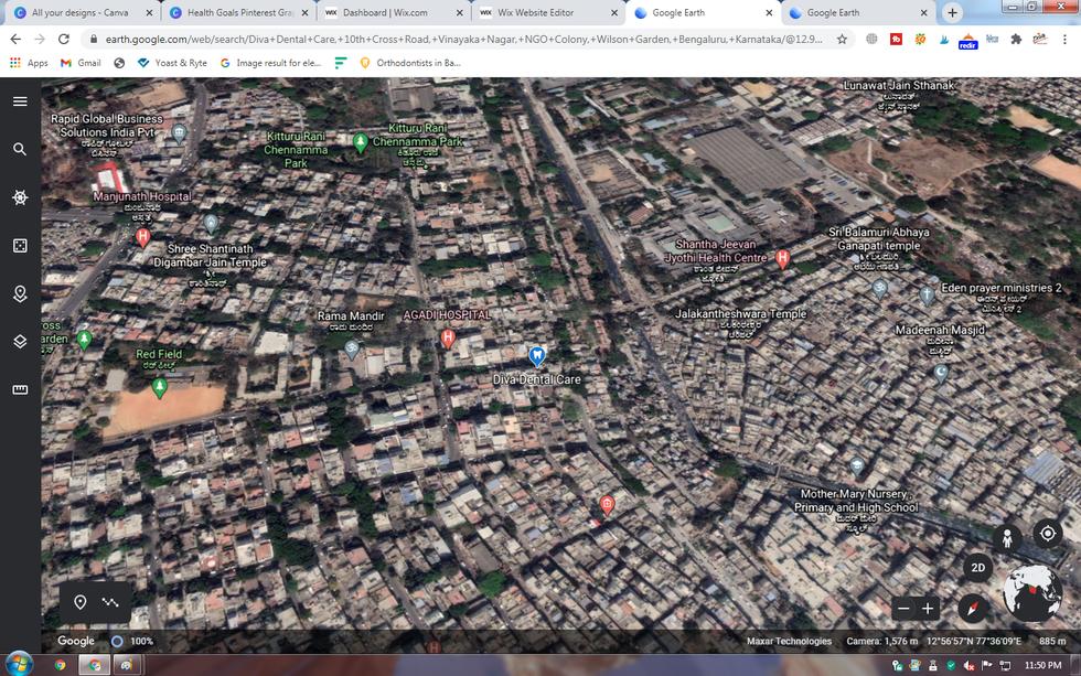 google earth map diva dental care.png