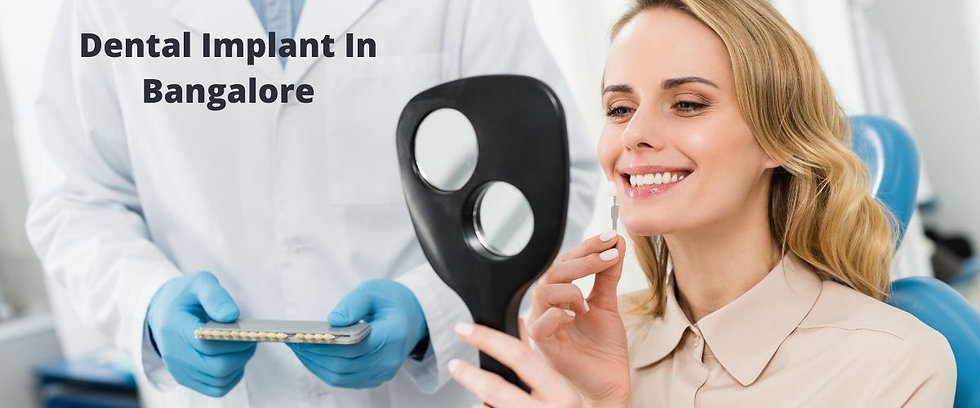 Dental Implant at Diva Dental Clinic Ban