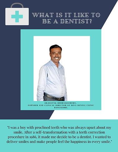Dentist In Bangalore, Dr. Deepak Rudramoorthy