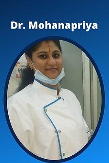 Dr. Mohanapriya, Dentist In bangalore.pn