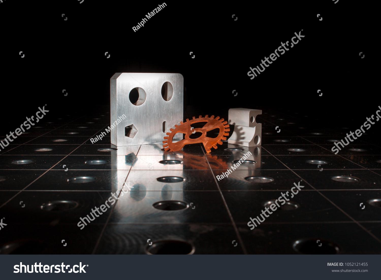 stock-photo-working-waterjet-cutting-machine-1052121455