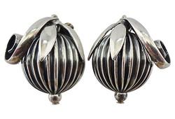 Napier Cumquat Earrings, 1955