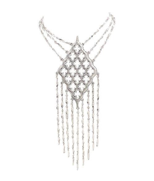 Napier Gothic Pendant Fringe Necklace, 1972