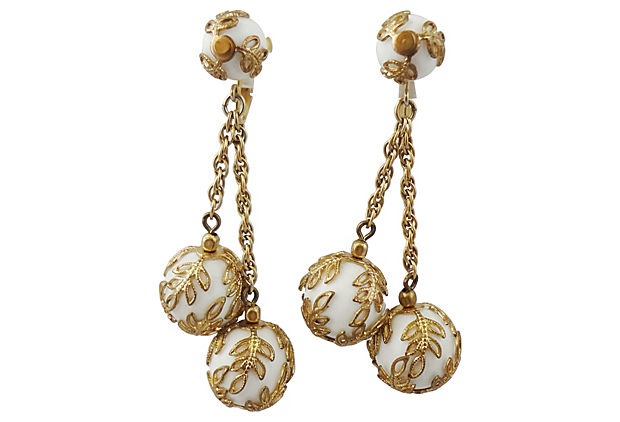Early 1950s Trifari Earrings