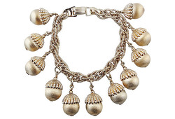 1960s Napier Charm Bracelet