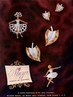 Mazer 1947 Harper's Bazaar Ad