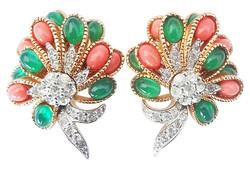 1960s Jomaz Earrings