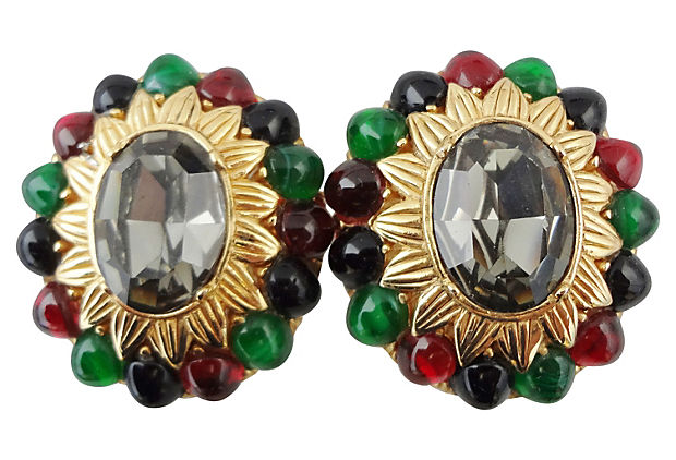 1980s Ciner Earrings