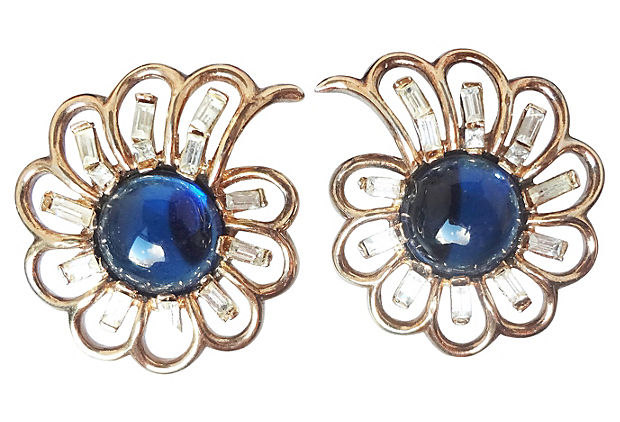 A. Philippe Trifari Earrings, 1951