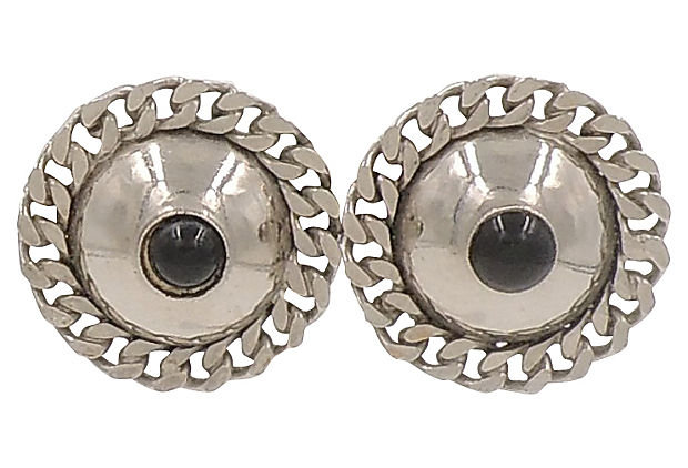 Ugo Correani Modernist Earrings