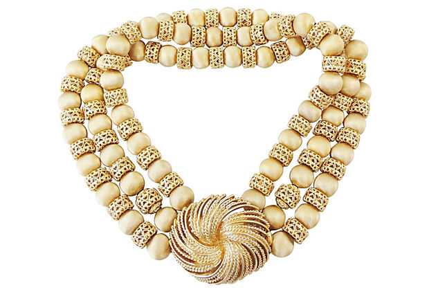 1960s Monet Necklace