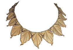 Late 1950s Napier Leaf Necklace