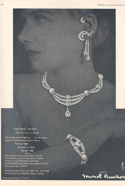 Boucher Ad in Vogue 1956