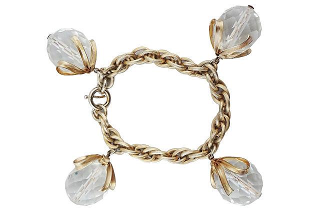 1950s Napier Charm Bracelet