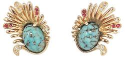 Early 1960s Boucher Earrings