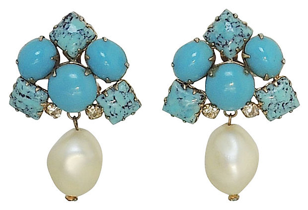 1950s Hattie Carnegie Earrings
