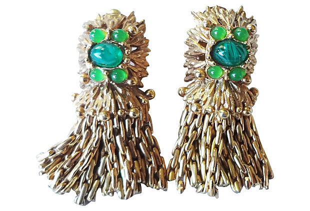 Dior Germany Earrings, 1967