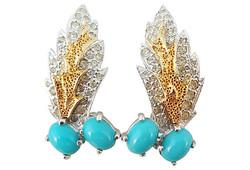 1960s Ledo Earrings
