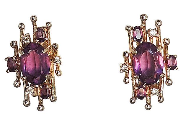 1960s Panetta Earrings