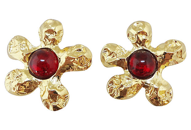 1980s Edouard Rambaud Paris Earrings