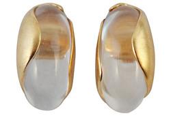1980s Inna Cytrine Signed Earrings