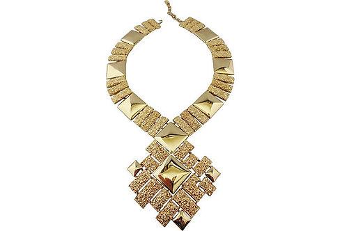Monet Ad Piece Necklace, 1973