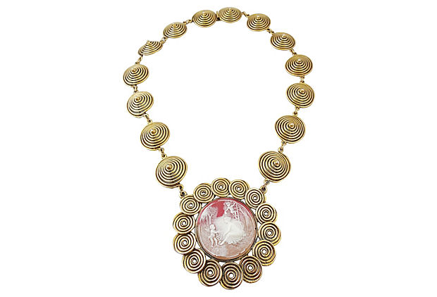 1960s Goldette Necklace