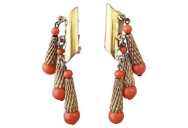 Napier Earrings c. 1954
