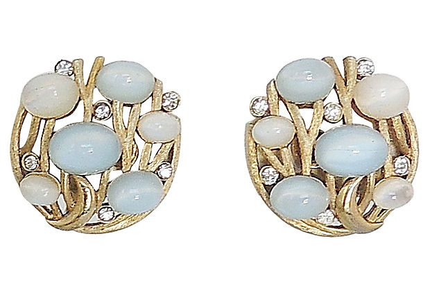 1960s Trifari Earrings