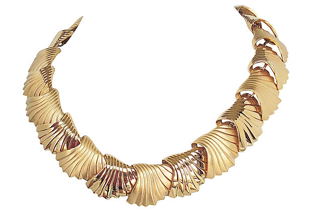 Monet Shell Necklace, 1985