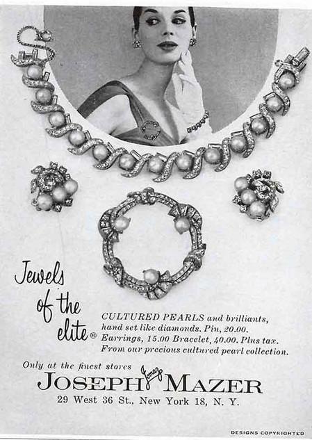 Jomaz 1958 Advertisement