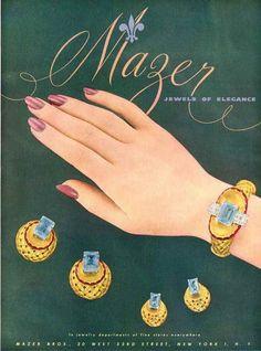 Mazer Ad 1946
