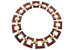 1970s Trifari Lucite Necklace