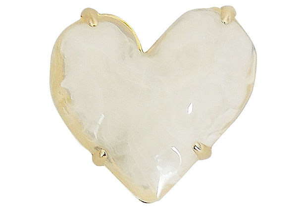 1980s Givenchy Heart Pin