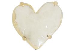 1980s Givenchy Heart Pin
