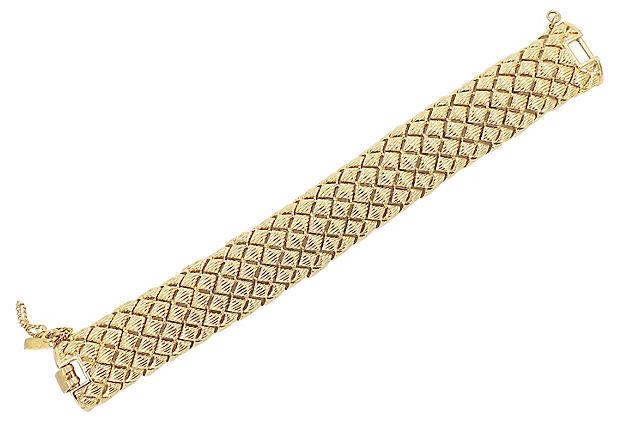 1970s Monet Articulated Bracelet
