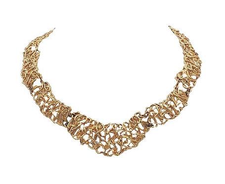 Napier Golden Tangles Necklace