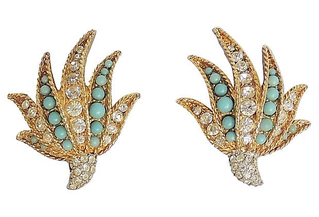 Boucher Earrings, 1961