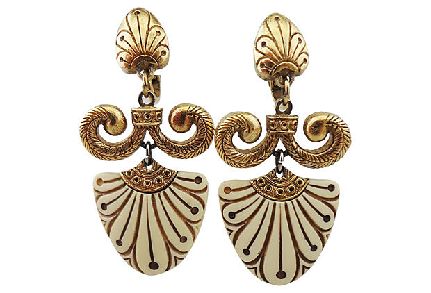 Trifari Earrings, 1974