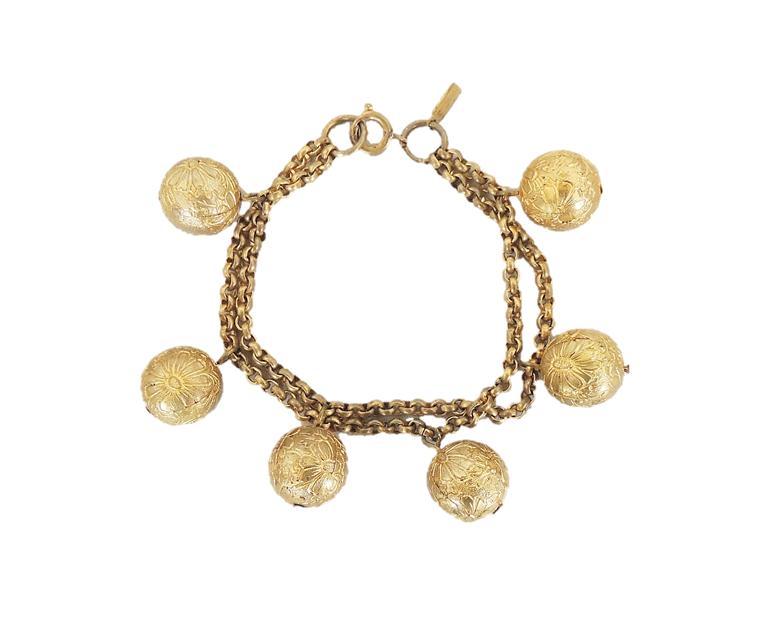 "1937 Monet ""Hindu Bells"" Bracelet"