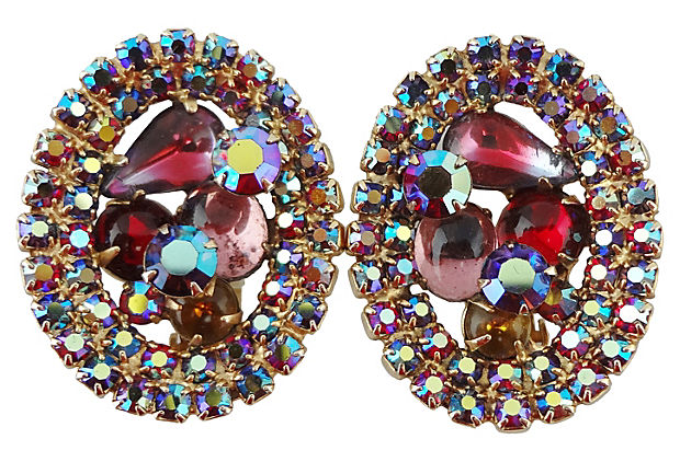 1960s Alice Caviness Earrings