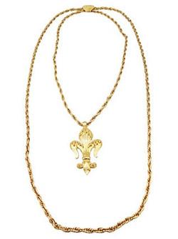 1970s Monet Pin/Pendant Necklace