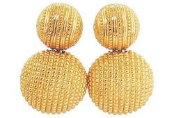 1980s Dior Earrings