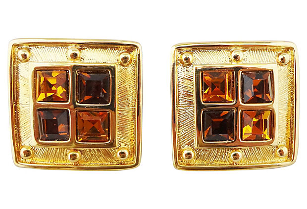 Napier Galleria Earrings, 1992