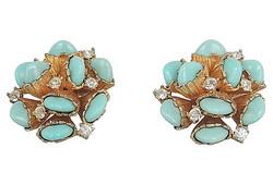 1960s Boucher Earrings