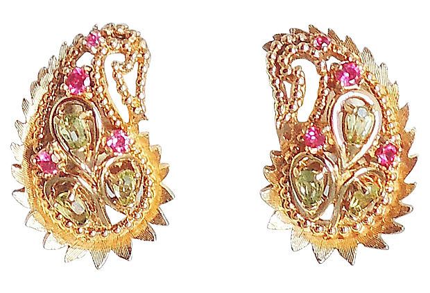 1960s Boucher Earrings