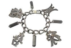 c1955 Napier Good Luck Bracelet