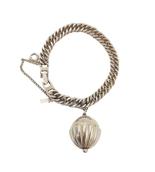 Monet Goldtone Perfume Charm Bracelet, 1949