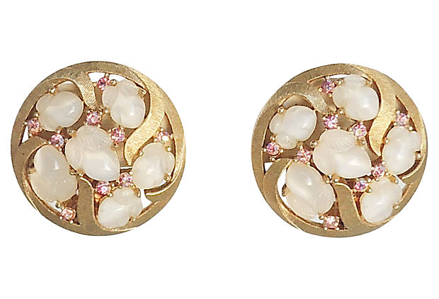 Late 1950s-1960s Trifari Earrings